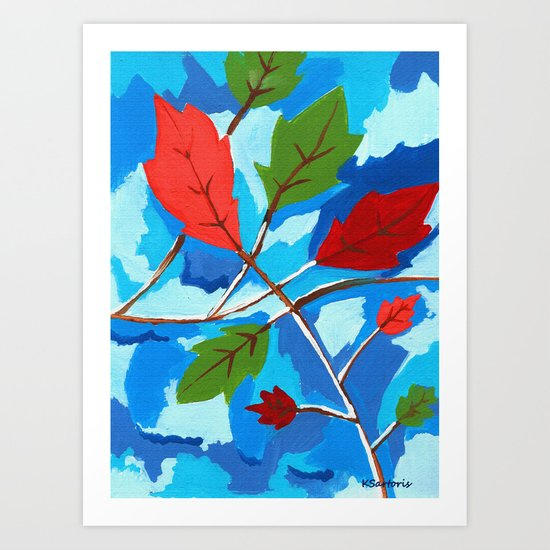 Falling For Fall Art Print