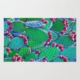 Flowering cacti Rug