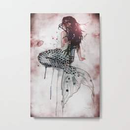 Mermaid II Metal Print