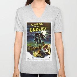 Curse of the Undead, 1959 (Vintage Movie Poster) Unisex V-Neck
