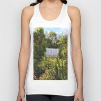memphis Tank Tops featuring Memphis Train by John Weeden