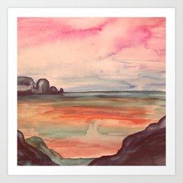 Melancholic Landscape Art Print