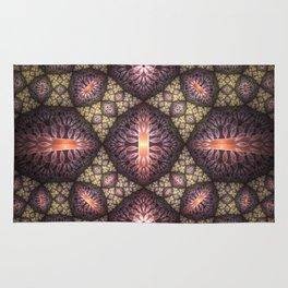 Fractal Art Pattern Rug