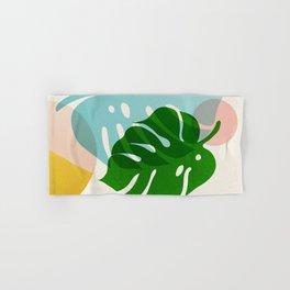 Abstraction_PLANTS_01 Hand & Bath Towel