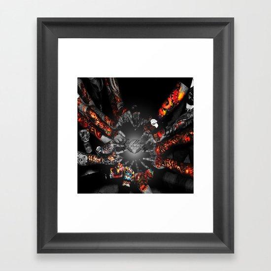 As One Framed Art Print