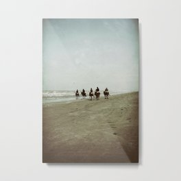 Riding with the Tide Metal Print