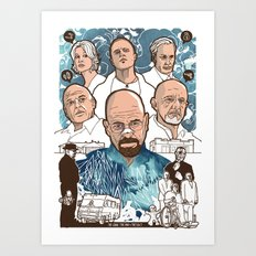 Breaking Bad: The Good, The Bad & The Ugly Art Print