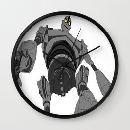 Iron Giant. Wall Clock