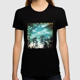 Big Sky - America As Vintage Album Art T-shirt