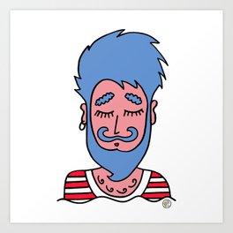 Sailor Boy! Art Print