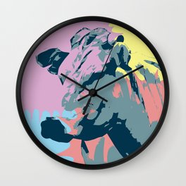 Happy Animal Wall Clock