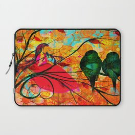""""""" O free birds, proud, charming, pure, without troubles."""" Laptop Sleeve"""