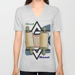 Bat Mitzvah Unisex V-Neck