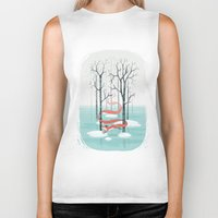 freeminds Biker Tanks featuring Forest Spirit by Freeminds