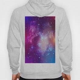Pink Galaxy Painting Hoody