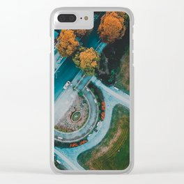 Berlin Frohnau Aerial View Clear iPhone Case