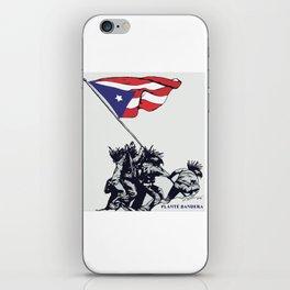 Planté Bandera iPhone Skin