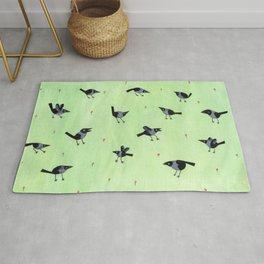 Magpies Rug