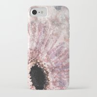 bisexual iPhone & iPod Cases featuring Pink flower with glitter by Better HOME