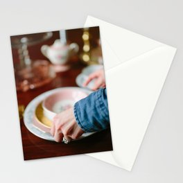 Setting The Table Stationery Cards