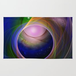 Entrance to universe Rug