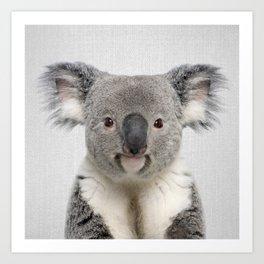 Koala 2 - Colorful Art Print