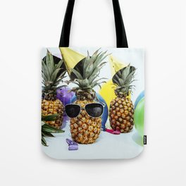 Pineapple Party Time Tote Bag