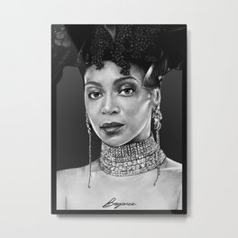 Bey - The September Issue Metal Print