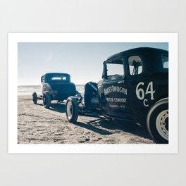 The Race of Gentlemen 15 Art Print