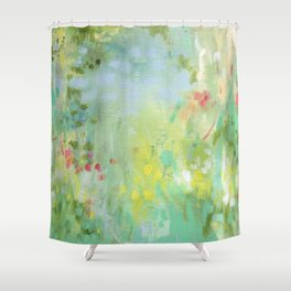 Isla Abstraction Shower Curtain