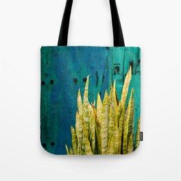 Blue Green Gran Canaria Colors Tote Bag