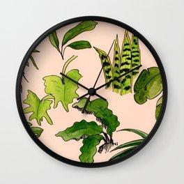 Fronds & Friends Wall Clock