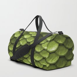 Mermaid Scales | Green with Envy Duffle Bag