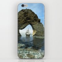 ship iPhone & iPod Skins featuring Ship by nicky2342