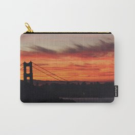 Sunset Behind the Golden Gate 3 Carry-All Pouch