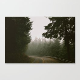 Driving Through Oregon Canvas Print