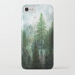 Mountain Morning 2 iPhone Case