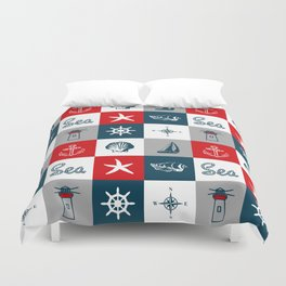 Nautical design 4 Duvet Cover