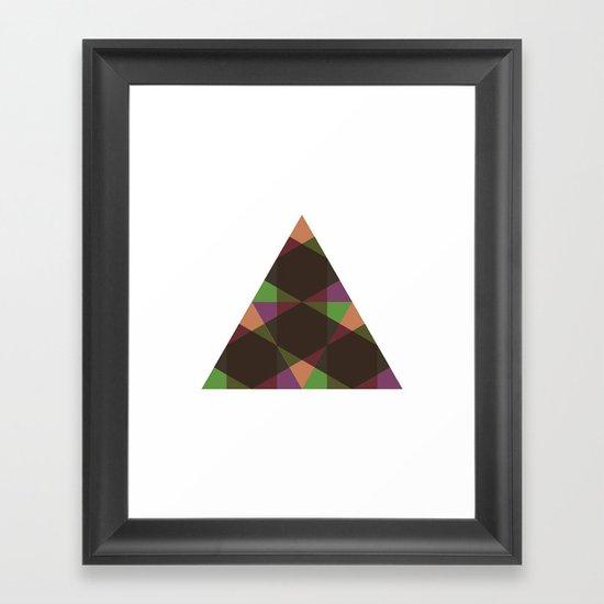 #397 Changeling – Geometry Daily Framed Art Print