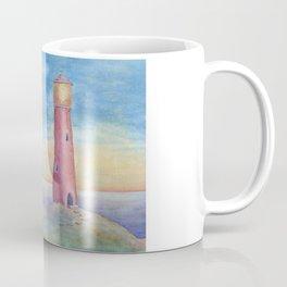 Evening at the lighthouse Coffee Mug