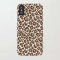leopard iPhone & iPod Cases featuring Leopard by Zen and Chic