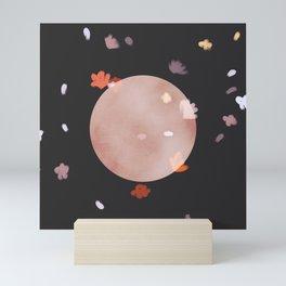 Super Flower Blood Moon Mini Art Print