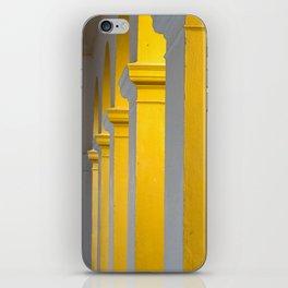 Columns at sunset iPhone Skin
