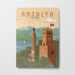 Antalya Metal Print