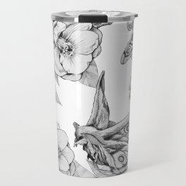Moths & Camellias Travel Mug