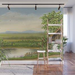 At Lake Wall Mural