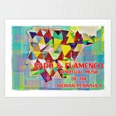 Fado & Flamenco Art Print