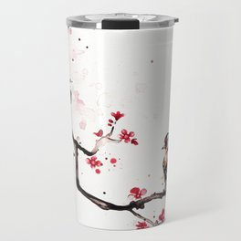 "The tiny wings ""The goldfinch"" Travel Mug"