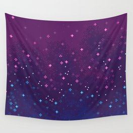 Bi Pride Flag Galaxy Wall Tapestry