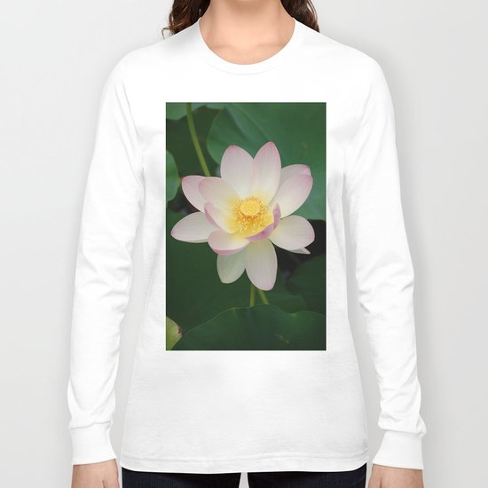 Lotus Blossom in Full Bloom Long Sleeve T-shirt